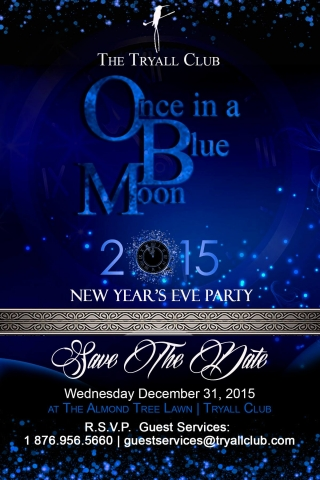 """Come To Jamaica - """"Once in a Blue Moon"""" New Year's Eve ...  Come To Jamaica..."""